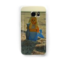 Lego Mermaid at the Beach Samsung Galaxy Case/Skin