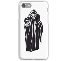 Death hooded evil sunglasses iPhone Case/Skin