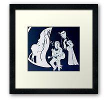 Janis, Kurt and Jimmy Framed Print