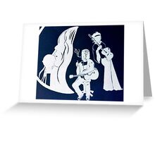 Janis, Kurt and Jimmy Greeting Card