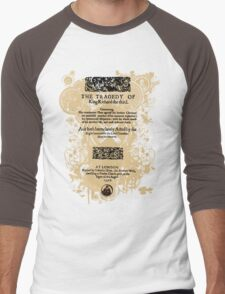 Shakespeare Richard III Quarto Front Piece Men's Baseball ¾ T-Shirt