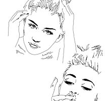 Miley Compilation - Simple Lines by chessromeo
