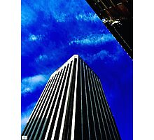 Scraping the sky. Photographic Print