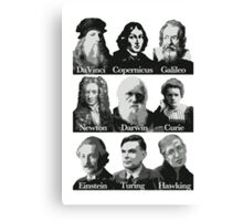 The Apostles of Science Canvas Print