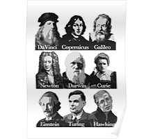 The Apostles of Science Poster