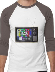 Movie Maker  Men's Baseball ¾ T-Shirt