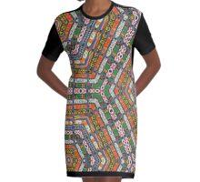 Africa  Graphic T-Shirt Dress