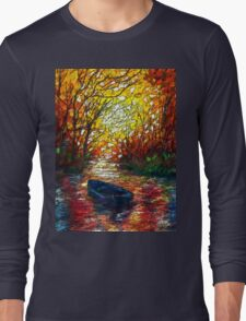 Impression Sunset by Lena Owens Long Sleeve T-Shirt