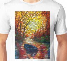 Impression Sunset by Lena Owens Unisex T-Shirt