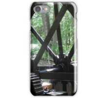 Dellinger's Water wheel at the Grist Mill iPhone Case/Skin