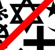 Just Say No to Mumbo Jumbo Sticker