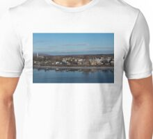 Ottawa River Panorama at Dawn - Still, Cold and Quiet Unisex T-Shirt