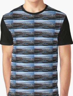 Vesuvius and the Boats II Graphic T-Shirt