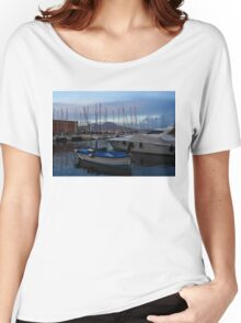 Vesuvius and the Boats II Women's Relaxed Fit T-Shirt