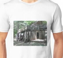The water flume to Dellinger's Grist Mill Unisex T-Shirt