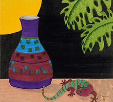 Little Gecko by Judy Newcomb