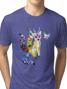Fox of Wisdom Tri-blend T-Shirt