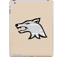 Arya Stark - Game of Thrones Direwolf iPad Case/Skin