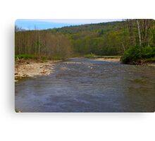 Susquehanna River Art Canvas Print