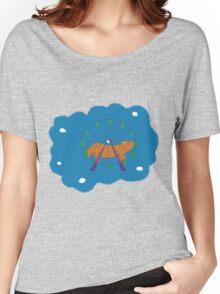 Hamster in a ferris wheel Women's Relaxed Fit T-Shirt