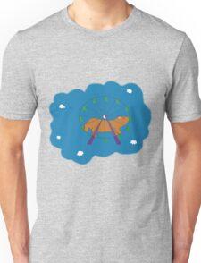 Hamster in a ferris wheel Unisex T-Shirt