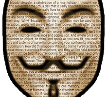 Anonymous - V for Vendetta by BagChemistry