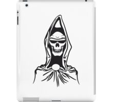 Death hooded robe evil sunglasses iPad Case/Skin
