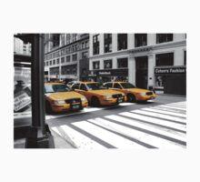 NYC Yellow Cabs Radio Shack One Piece - Short Sleeve