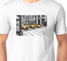 NYC Yellow Cabs Radio Shack Unisex T-Shirt