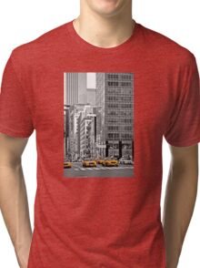 NYC Yellow Cabs NYPD Tri-blend T-Shirt