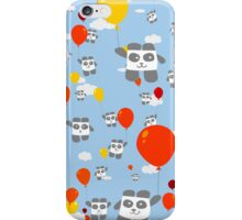 Sky Panda Pattern iPhone Case/Skin