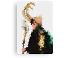 Kneel Master Canvas Print