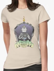 The Love Robot Womens Fitted T-Shirt