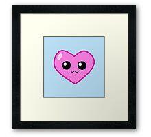 Smiling Heart Framed Print
