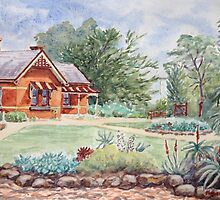 Truganina Explosives Reserve Keeper's Quarters by Virginia  Coghill