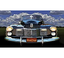 41 Cadillac Blue on Blue Capturing the Mood of an Age Photographic Print