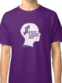 Migraine and Headache Awareness Month Design 2 Classic T-Shirt