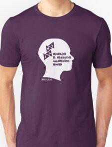 Migraine and Headache Awareness Month Design 2 Unisex T-Shirt