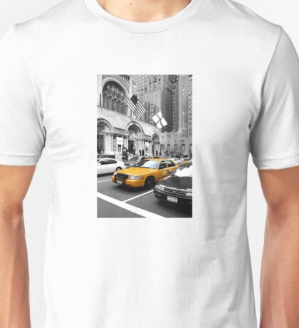NYC Yellow Cabs Avenue Unisex T-Shirt