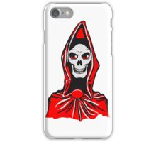 Death hooded robe evil iPhone Case/Skin