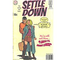 Settle Down by The 1975 Comic Photographic Print