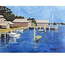 Martha's Vineyard Harbor Photographic Print
