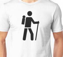 Hiking icon Unisex T-Shirt