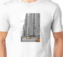 NYC Yellow Cabs Radio City Music Hall Unisex T-Shirt