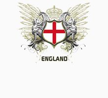 England Euro 2016 (white collection) Womens Fitted T-Shirt