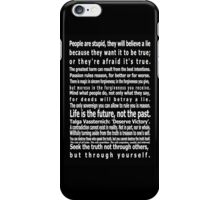 The Wizards Rules iPhone Case/Skin