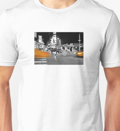 NYC Yellow Cabs Carriage Unisex T-Shirt
