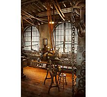 Machinist - The crowded workshop Photographic Print