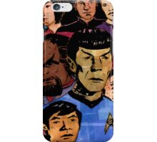 Faces of the Final Frontier iPhone Case/Skin