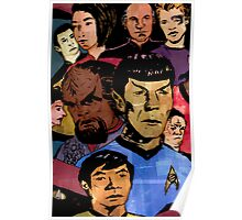 Faces of the Final Frontier Poster